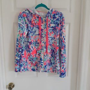 SOLD EBY Lilly Pulitzer Velour Jacket